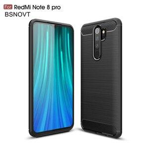 """Image 1 - Pour Xiaomi Redmi Note 8 Pro étui en Silicone souple pour Xiaomi Redmi Note 8 Pro étui pour Redmi Note 8 Pro 6.53 """"BSNOVT"""
