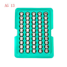 new 50pcs Cell Coin Watches Battery LR44 AG13 L1154 357 SR44 1.5V Alkaline Button Batteries Suitable For Watch