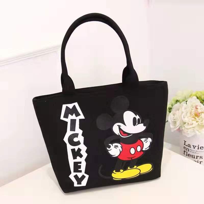 Mickey Handbag Women Canvas Bag For Women 2019 Ladies Shoulder Bag Large Capacity Cute Shopping Storage Bag Tote Bolsa Feminina