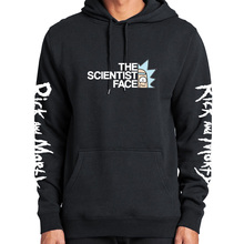 Rick And Morty Hoodie Sweatshirt The Science Face Warm Thick Plus Velvet TV Cool Hoody Geek Cotton Winter Clothes Men