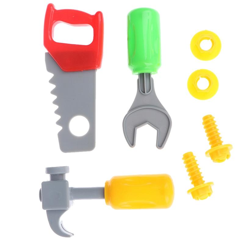 1Set Kids Baby Pretend Play Repair Tools Educational Toy For Boys Girls Random Type Simulation Repair Kit Toy For Boys Gift