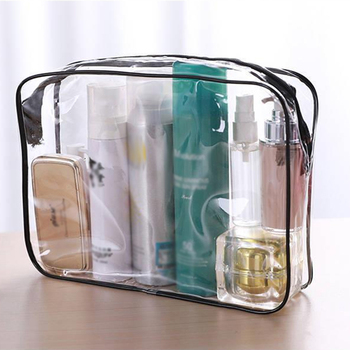women 1pc pvc small makeup bags new creative travel transparent cosmetic bag wash pouch beauty storage case toiletry bag Travel Transparent Cosmetic Bag PVC Women Zipper Clear Makeup Bags Beauty Case MakeUp Organizer Bath Toiletry Wash Bag for Women