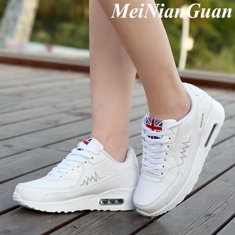 Scarpe Donna Flat Sporty Woman Sneakers Lace Up Running Shoes Women Soft Sport Woman Shoes Breathable Branded Women's Shoes H1