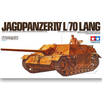 Tamiya WWII 35088 1/35 German Jagdpanzer IV L/70 Lang Tank Destroyer Display Collectible Toy Plastic Assembly Building Model Kit
