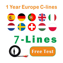 Get more info on the Newest Most stable1 year Europe cccams spain Portugal Poland Germany Satellite tv Receiver 7 lines  FULL HD DVB-S2 Support Ccams