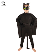 Cat Noir Cosplay Costumes Lady Bug Halloween Costumes Kids Ladybug Jumpsuit Adrien Marinette Party Clothes Boy Clothing ladybug girl clothes miraculous kids marinette cartoon second skin halloween party costumes suit cosplay costumes mask bag toy