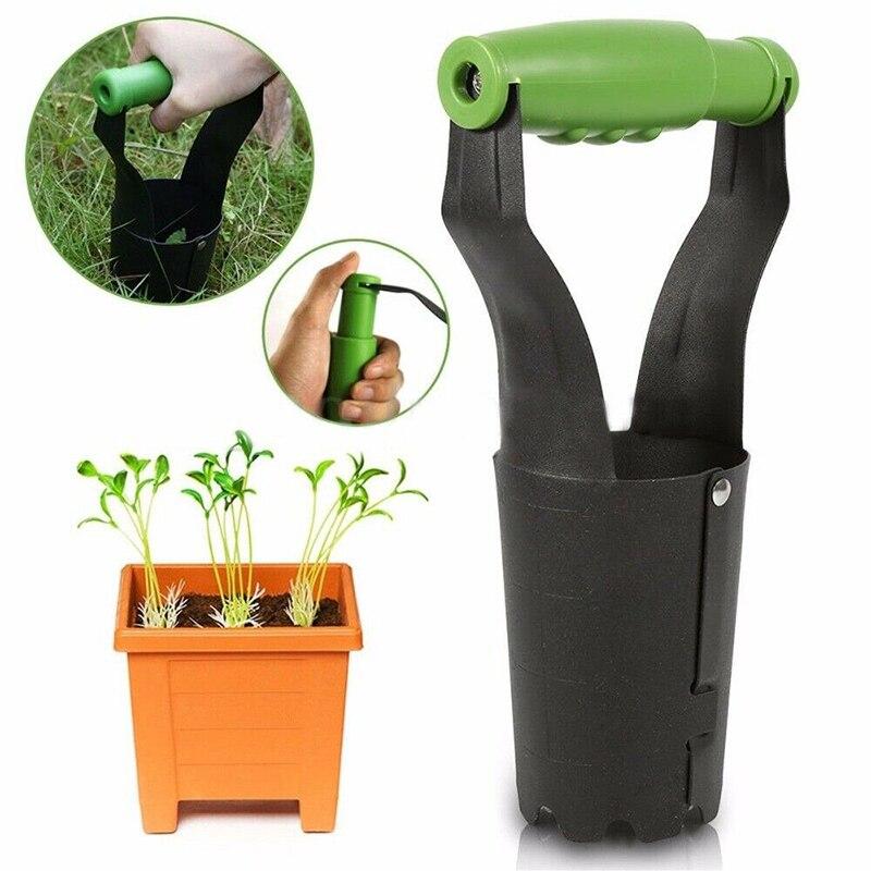 1 pièces acier au carbone manuel désherbage pelle désherbeur Doliform jardinage désherbage repiquage pelle jardin Outil de jardin H99F