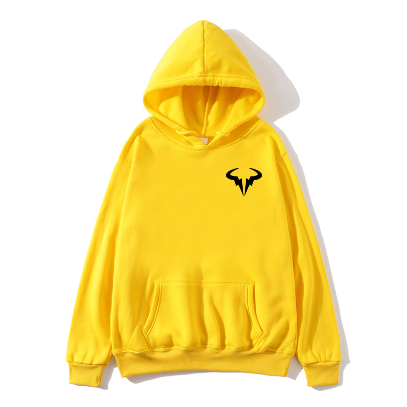 New Fashion Printed Fleece Hip Hop Hoodie Casual men Big Yards Sweatshirts Rafaels Nadal Natto Bull Logo Hoodies Pullover