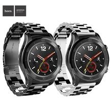 HOCO 22mm קלאסי נירוסטה להקת עבור Huawei שעון GT 2 פרו מתכת רצועת עבור Samsung הילוך S3 ספורט huawei gt galaxy 46mm