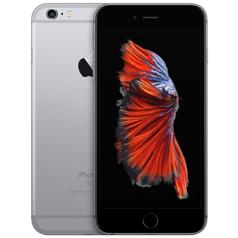 """Отремонтированный Apple iPhone 6 s ram 2 Гб 16 Гб rom 64 Гб 4,"""" iOS двухъядерный 12.0мп камера huella dactilar 4G LTE desbloqueado móvi - Цвет: Серый"""