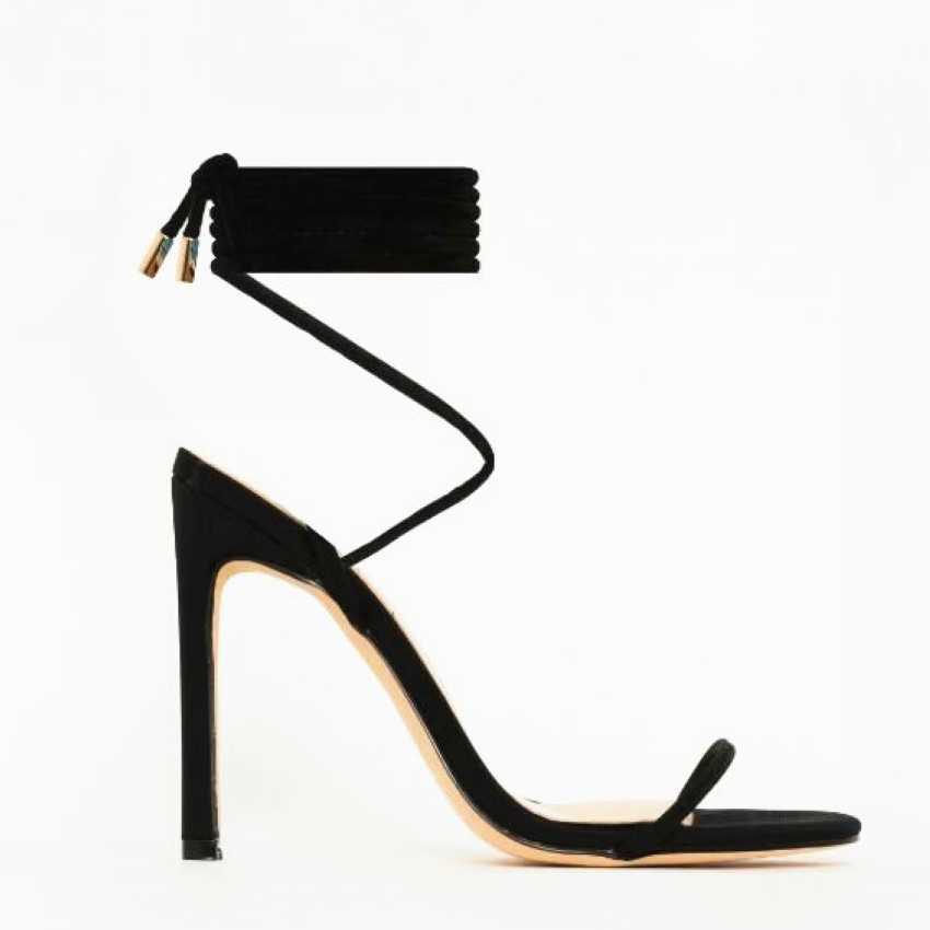 2020 Nuove Donne Scarpe Gladiatore Delle Donne Sandali Alla Caviglia Croce Cinghia Sandali Degli Alti Talloni di Estate Scarpe Donna Sandali Scarpe Da Donna