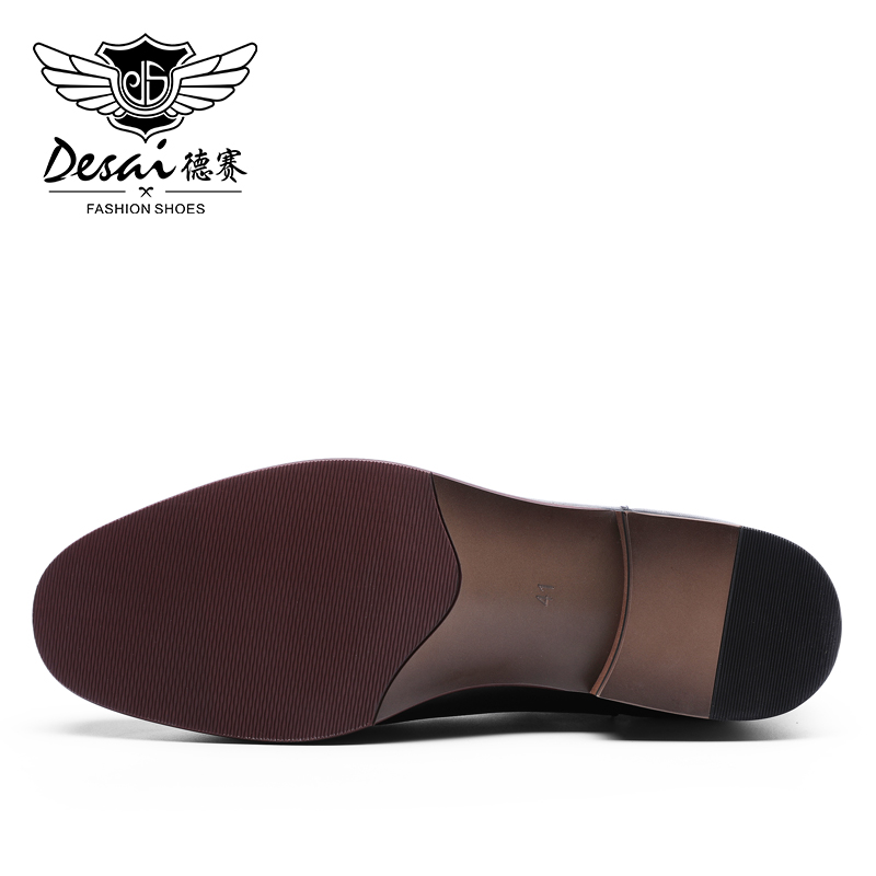 Image 3 - DESAI Manufacturer Oxford Wedding Gentleman High Quality Leather Shoes Boots For Men 2019-in Work & Safety Boots from Shoes