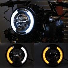 11W universel 7 pouces moto phare led moteur 7