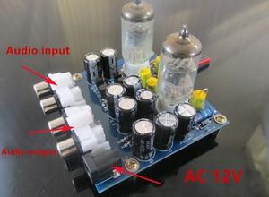 Image 3 - Audiophile 6J1 צינור מגבר אוזניות כוח מגבר pre amp אוזניות Amp 6J1 שסתום Preamp חיץ מרה Amplifie DiY קיט
