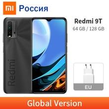 Глобальная версия Xiaomi Redmi-9 T, 4 ГБ/64 Гб/128 ГБ 9 T смартфон 48MP Quad Camera 6000 мАч Snapdragon 662 6,53