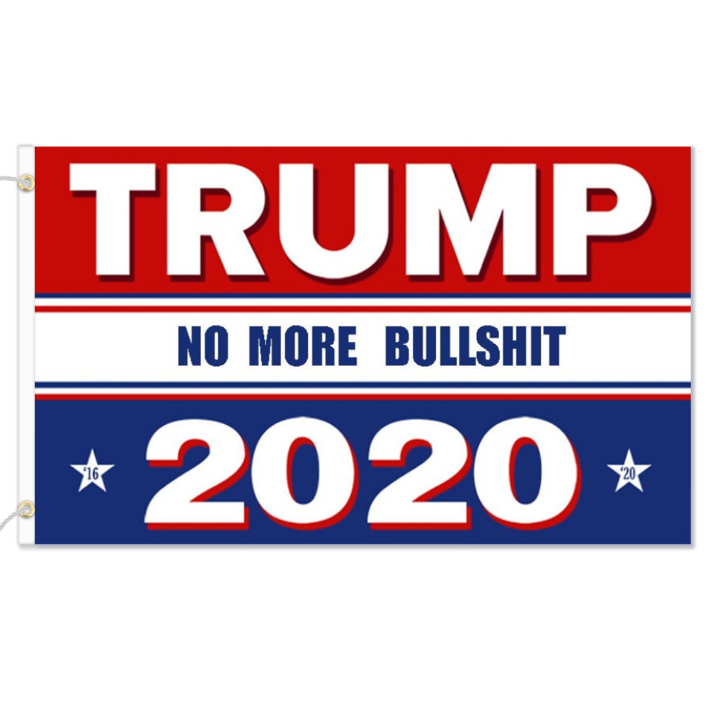 2020 USA Flag For Trump Printed Donald Trump Flag Keep America Great Donald For President DA