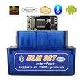 OBD2 сканер ELM327 Bluetooth V1.5 OBDII автомобильный диагностический сканер ELM 327 Bluetooth OBD 2 для Android Считыватель кодов диагностические инструменты