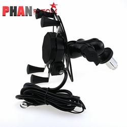 For HONDA CBR600 F4 F4i CB400 VTEC CB1000 CBR 600RR 1000RR Motorcycle GPS Navigation Frame Mobile Phone Mount Bracket