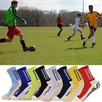 Soccer Socks Sports Grip Socks Anti Non Skid Basketball Socks Dispensing Anti Slip Cotton Soccer Socks Unisex Sports Socks