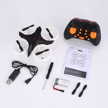 D6 Mini RC drone Neon remote control Quadcopter Aircraft with Altitude Hold 3D Flip LED Light Headless Mode 360 Flip for Kid Toy(China)