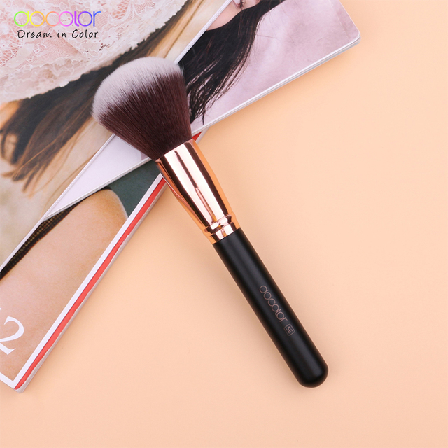 Docolor Makeup Brushes Set For Foundation Powder Blending Eyeshadow Eyebrow Make Up Brush Wood Handle Cosmetics Beauty Tools 3