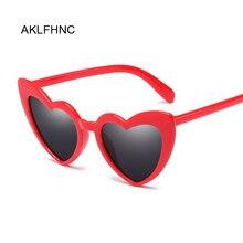 Óculos de sol feminino tipo olho de gato, óculos de sol para mulheres, de estilo olho de gato, amor