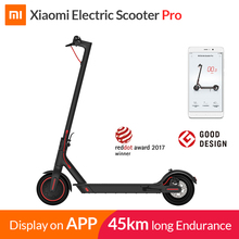 Xiaomi mi электрический самокат mi jia M365 Pro Smart E самокат скейтборд mi ni складной Ховерборд Лонгборд для взрослых 45 км аккумулятор