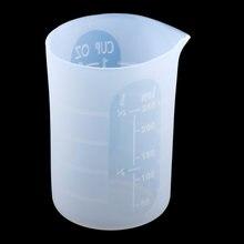 250 мл прозрачный пластиковый смоляный мерный стаканчик Градуированные