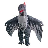 Adult Pterosaur Costume Inflatable Pterosaur Costume Cosplay Dinosaur Party Halloween Costume for Women Men