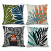 Pillowcase Decorative Sofa Cushion Case Bed Pillow Cover Home Decor Car Cushion Cover Abstract leaf geometry Pillow Case