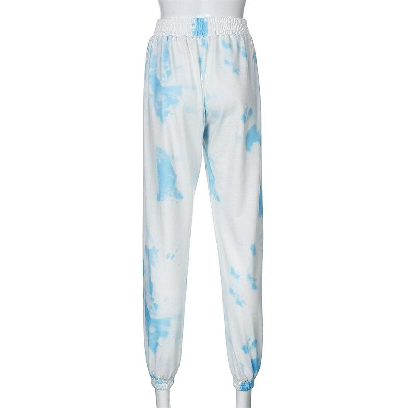 Γυναικείο tie dye χαλαρό παντελόνι msow