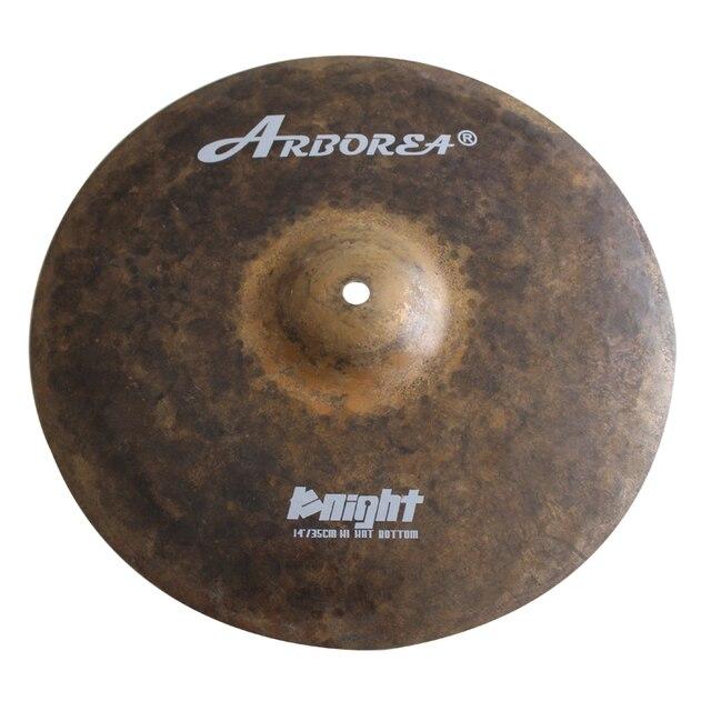 Arborea Knight Series B20 Hand Made Cymbals 18'' Crash+14'' Hihat 4