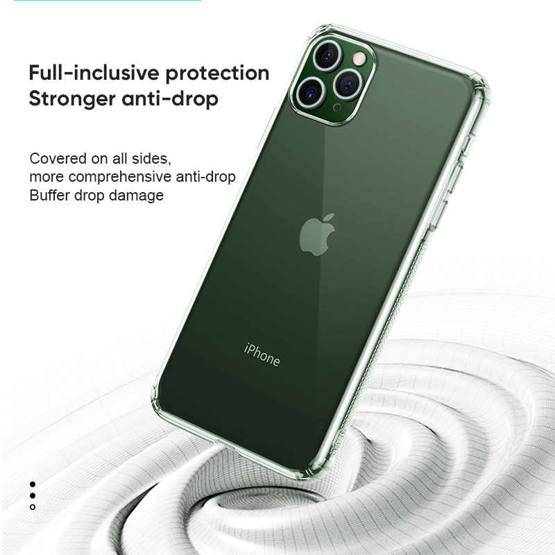 Joyroom Phone Case for Iphone 11 Case transparen Protect Casing for Iphone 11 Pro Max Case High Quality TPU For Iphone 11 Case Fitted Cases  - AliExpress