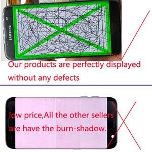 Image 4 - NO Burn Shadow ORIGINAL 5.5 Amoled LCD Display Frame For SAMSUNG Galaxy S7 Edge G935 SM G935F G935FD LCD Screen Digitizer Touch