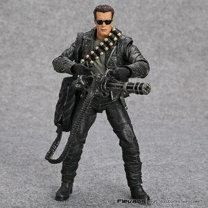 """Image 2 - NECA Terminator 2: Urteil Tag T 800 Arnold Schwarzenegger PVC Action Figure Sammeln Modell Spielzeug 7 """"18cm"""