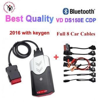 цена на 2020 NEW VCI vd ds150e cdp pro plus 2016.r0 with keygen for delphis obd2 diagnostic repair tool led 3in1 Scanner car accessorie