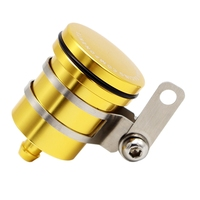 Copo de óleo do freio da motocicleta modificado bomba de freio cnc tridimensional pote de óleo Peças e cilindros de roda     -