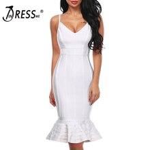 Deep Dress Backless Vestidos