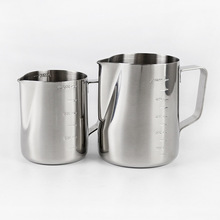 Measuring-Cup Milk-Tea Stainless-Steel Kitchen with Scale Thickened Kettle Household