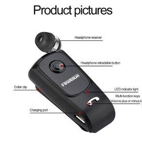 Image 4 - FINEBLUE F920 Mini Không Dây Auriculares Lái Xe Bluetooth Tai Nghe Cuộc Gọi Nhắc Nhở Rung Mặc Kẹp Thể Thao Chạy Bộ Tai Nghe Chụp Tai