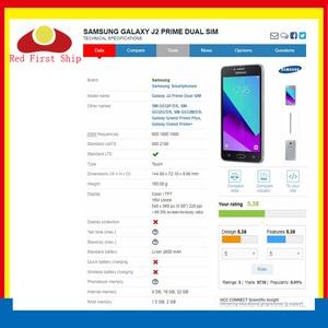 Image 3 - 10 adet/grup G532 dokunmatik ekran için Samsung Galaxy J2 başbakan G532 SM G532 dokunmatik ekran Digitizer paneli sensörü ön cam dış Lens