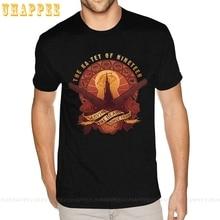 Tees Shirt The-Beam Dark-Tower Stephen King Black All-Things Serve Boys Men Man