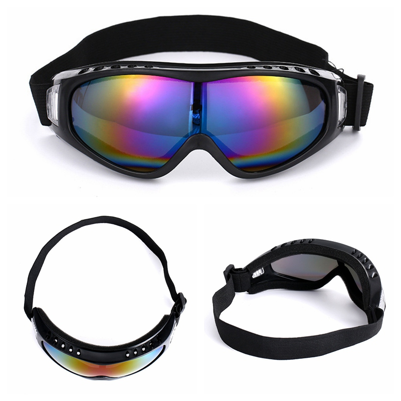Motocycle Sports Ski Goggles Eyewear Snow Blindness UV Protective Sunglasses Riding Running Suit Anti-Glare Polaroid Glasses New