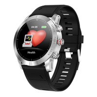 Smart Watch 1.3 Inch Touch Round Screen Support Sport Heart Rate Monitor Sensor 350mAh Battery Fitness Band