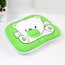 1pc Newborn Baby Bear Pattern Pillow Infant Support Cushion Pad Prevent Flat Head Shaping Pillow Correct Sleeping Posture(China)