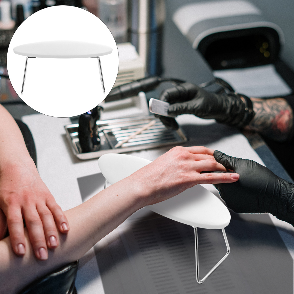 1Pc Waterproof Nail Arm Rest Pillow Manicure Nail Art Salon Wrist Cushion Pillow