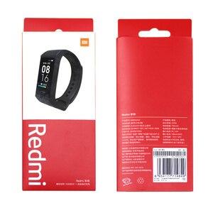 Image 5 - Xiaomi Redmi להקת חכם קצב לב ספורט צג Bluetooth 5.0 עמיד למים צמיד מגע גדול צבע מסך צמיד