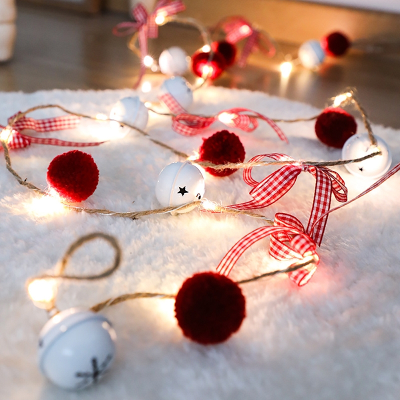 Christmas Led Light String Pinecone Copper Wire Lamp Christmas Tree Decoration Fairy Light