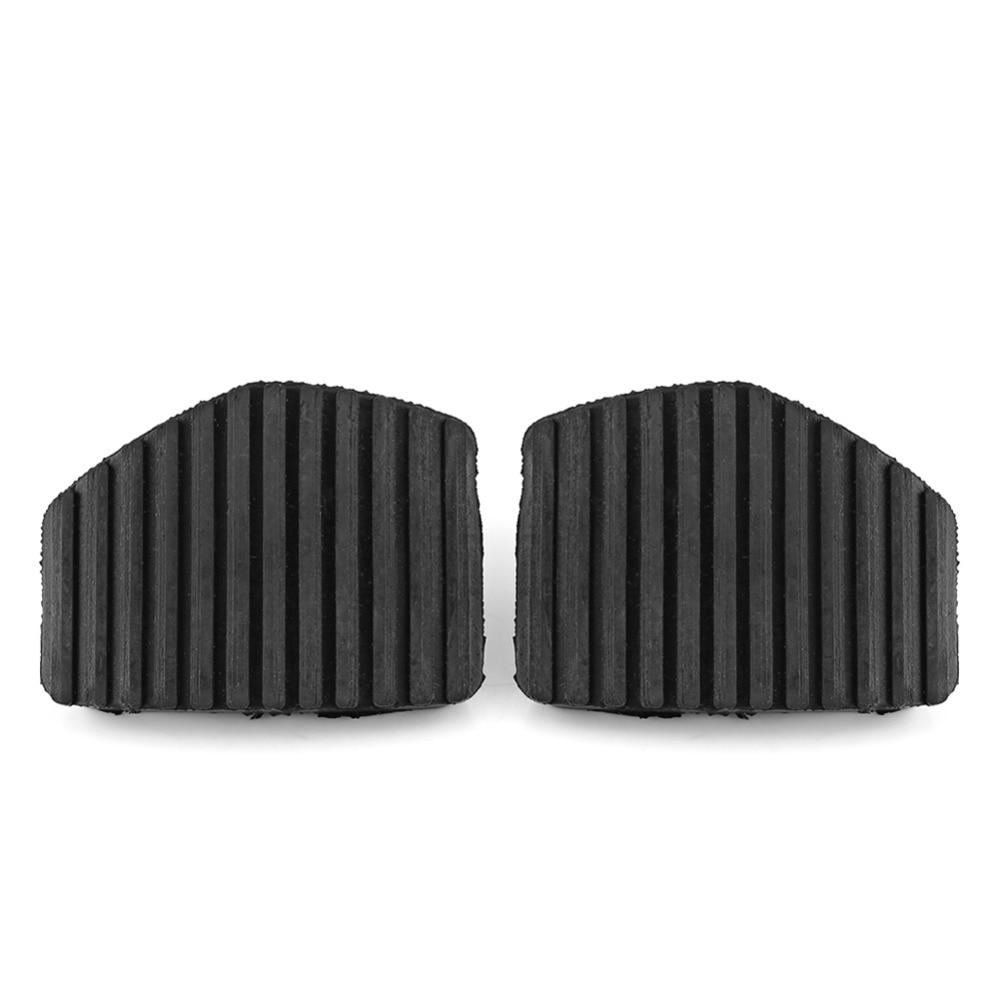Cubierta de goma del pedal de embrague,1 par de cubierta de goma del pedal de freno del embrague para 1007 207 208 301 C3 C4 C5 C6 C8