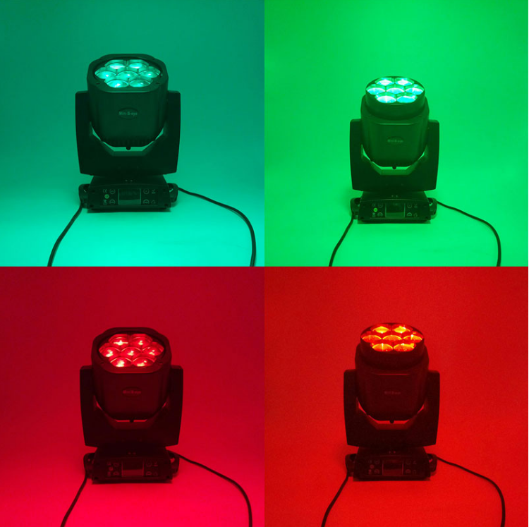 H6b52f5ecb7854ad990c81f37e83e1eedU - LED 7X18W Wash Light RGBWA+UV 6in1 Moving Head Stage Light DMX Stage Light DJ Nightclub Party Concert Stage Professional